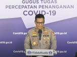 Polri: 145 Orang Pedemo Tolak Omnibus Law Reaktif Covid-19