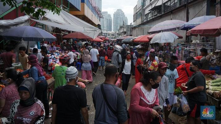 Ilustrasi Pasar. CNBC Indonesia/Tri Susilo
