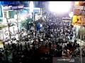 Warga Padati Jalanan di Kabupaten Garut saat Malam Takbiran