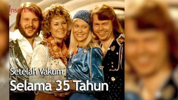 Grup Musik Legendaris ABBA Akan Rilis Lagu Baru Tahun Ini