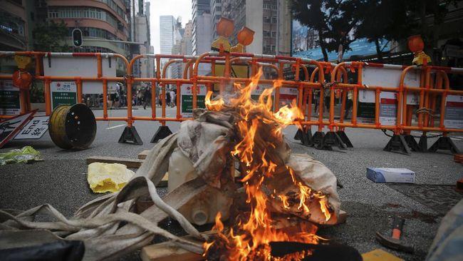 Demo Rusuh, Rakyat Hong Kong Minta Merdeka dari Ch