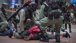 FOTO: Demo Hong Kong Kembali Ricuh