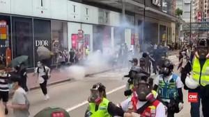 VIDEO: Demo di Hong Kong, Polisi Tangkap 40 Orang