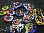 Kematian Tertinggi di Dunia, Warga AS Ramai Kunjungi Pantai