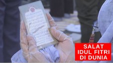 VIDEO: Salat Idul Fitri di Dunia