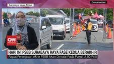 VIDEO: PSBB Surabaya Raya Fase Kedua Berakhir Hari Ini