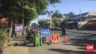 Hari Kedua Lebaran, Lalin Perbatasan Bekasi-Jakarta Lenggang