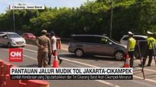 VIDEO: Pantauan Jalur Mudik Tol Jakarta-Cikampek