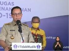 Kasus Turun Belum Signifikan, Akankah Anies Perpanjang PSBB?