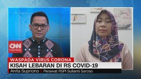 VIDEO: Kisah Lebaran di RS Covid-19