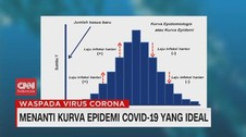 VIDEO: Menanti Kurva Epidemi Covid-19 yang Ideal