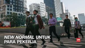 VIDEO: Panduan Jalani New Normal untuk Para Pekerja