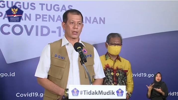 Ketua Pelaksana Gugus Tugas Percepatan Penanganan Corona Virus Disease 2019 ,Letnan Jenderal TNI Doni Monardo (Youtube BNPB Indonesia)