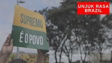 VIDEO: Unjuk Rasa Akhiri Lockdown di Brazil