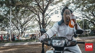 Topeng Labu Muarajambi, Tradisi Silaturahmi di Tengah Wabah