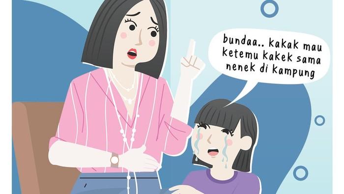 Bunda Perlu Tahu, Kiat Hadapi Anak Rewel Mau Mudik Idul Fitri