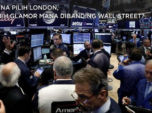 China Pilih Bursa London, Lebih Glamor dari Wall Street?