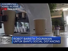 'New Normal' Dengan Robot Barista