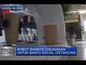'New Normal' Dengan Robot Barista