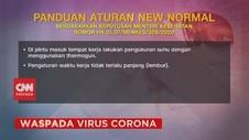 VIDEO: Panduan Aturan New Normal Menteri Kesehatan