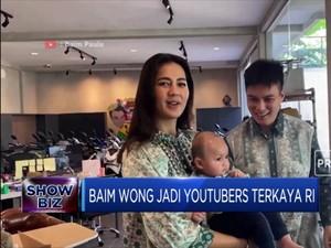 Baim Wong Jadi Youtubers Terkaya di Indonesia