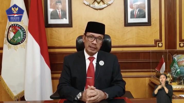 Agus Maftuh Abegebriel, Duta Besar RI untuk Kerajaan Arab Saudi (Youtube BNPB Indonesia)