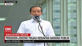 VIDEO: Jelang New Normal, Jokowi Tinjau Sarana Publik
