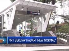MRT Bersiap Hadapi 'New Normal'