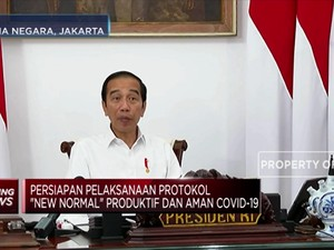 Ini Syarat Jokowi untuk Daerah yang Mau Terapkan New Normal