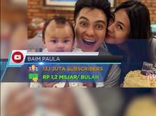 Inilah 10 Youtuber Terkaya di Indonesia