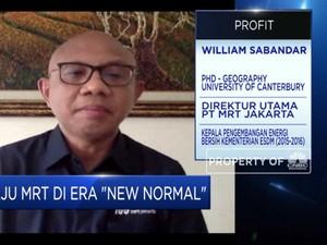 Hadapi New Normal, MRT Jakarta Siapkan Protokol 'Bangkit'