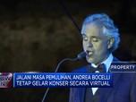 Andrea Bocelli dan Keluarga dalam Masa Pemulihan dari Corona