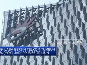 Telkom Raup Laba Bersih Hingga Rp 18,66 T pada 2019