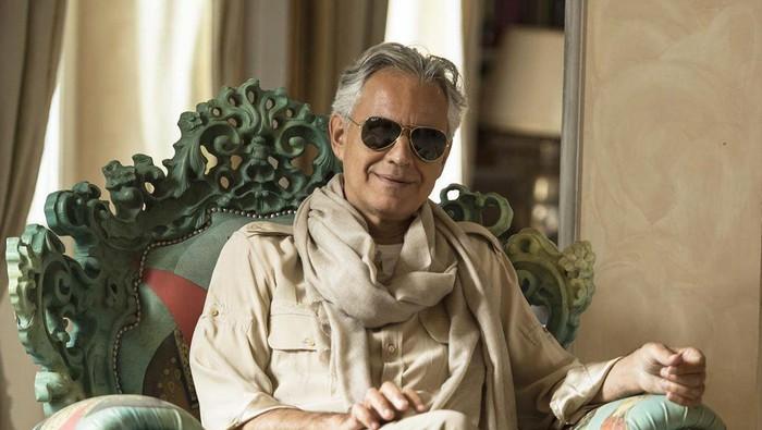 Sempat Positif Corona, Ini Alasan Andrea Bocelli Sembunyikan Hasil Medis