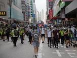 Abaikan COVID-19, Ribuan Warga Hong Kong Unjuk Rasa Lagi