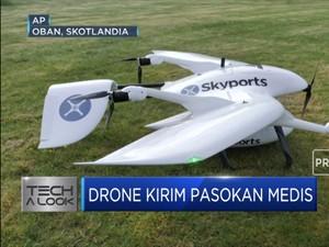 Drone Kirim Pasokan Medis