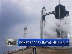 Terhalang Cuaca Buruk, Roket SpaceX Batal Meluncur