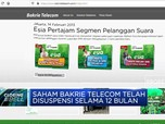 Saham Bakrie Telecom Berpotensi Delisting