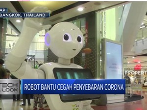 Robot Bantu Cegah Penyebaran Corona di Thailand
