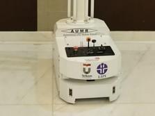 Setinggi Manusia! Ini Robot Made in RI Buat Perangi Corona