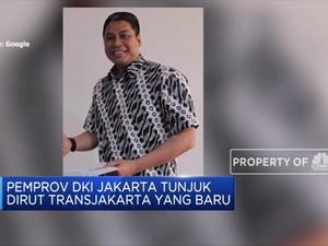 Sardjono Jhony Tjitrokusumo, Ditunjuk Jadi Dirut Transjakarta