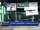 Filipina Longgarkan Lockdown per 1 Juni