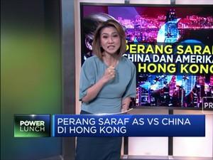 Perang Saraf AS vs China di Hong Kong