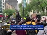 Demo Akibat Salah Satu Kematian Warga AS Kian Meluas