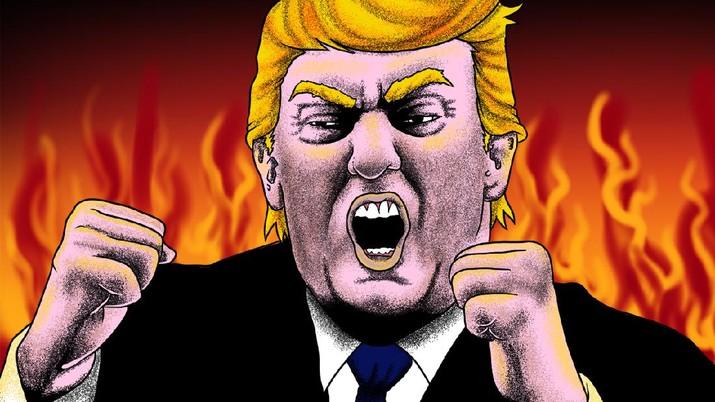 Infografis/'Aksi Gila' Trump: Talak 3 WHO & Setop Pendanaan!/Aristya Rahadian Krisabella