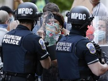 Instruksi Trump Batal, AS Tarik Tentara di Demo George Floyd
