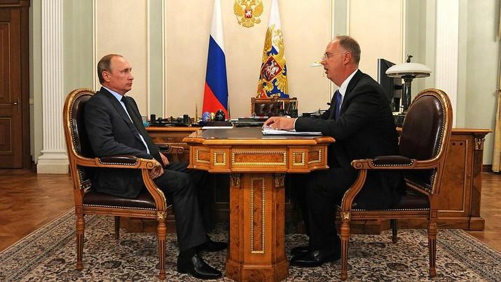 Putin dan CEO Russian Direct Investment Fund (RDIF) Kirill Dmitriev/Doc.Kremlin.ru