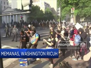 AS Memanas, Washington Ricuh