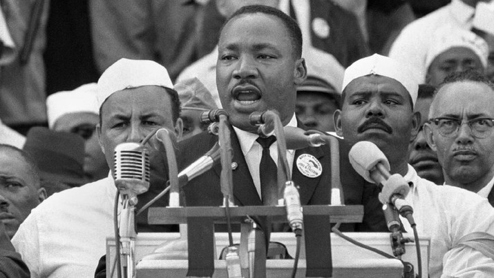 Dr. Martin Luther King Jr, 1963, di Washington (© AP Images)