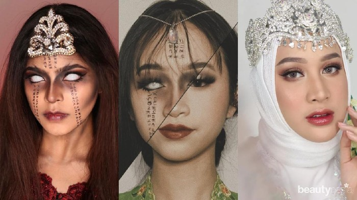 Deretan Beauty Influencer Re-Create Makeup Video Lathi, Hasilnya Menakjubkan!